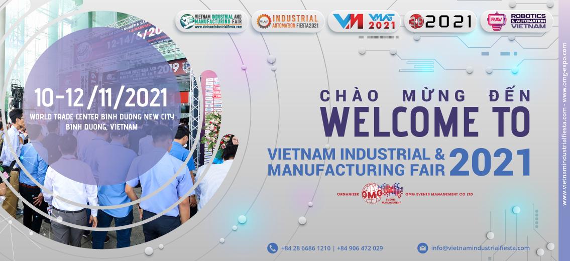 VIMF - VIETNAM INDUSTRIAL & MANUFACTURING FAIR 2021