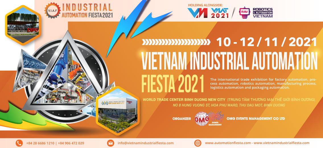 VIAF - VIETNAM INDUSTRIAL AUTOMATION FIESTA 2021